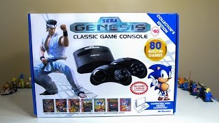 Sega Genesis Classic Console: 80 Games in One!