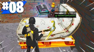 PUCE DE DECRYPTAGE 08 : CHERCHER A JUNK JONCTION (DEFIS FORTNITE) jun.k 検索動画 22
