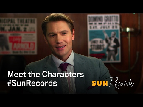 Sun Records on CMT  Meet the Characters