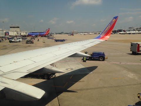 Full Flight | Southwest 1971 | Boeing 737-300 | Atlanta to Houston Hobby