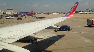 Full Flight   Southwest 1971   Boeing 737-300   Atlanta to Houston Hobby