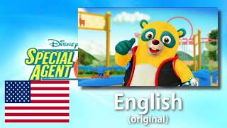 Gambar cover Special Agent Oso - Theme Song || One-Line Multilanguage [Read Desc]