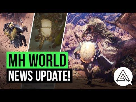 Download Youtube: Monster Hunter World News | New Mantles, Arena Quests, Elder Dragons & More!