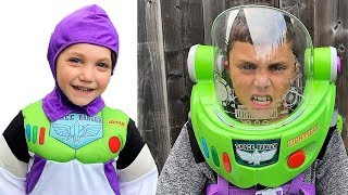 Zack And Buzz Lightyear Space Ranger Armor With Jet Pack Toy Story 4