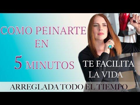 COMO PEINARSE EN 5 MINUTOS Y VERSE ARREGLADABRAZILIAN BLOWOUT