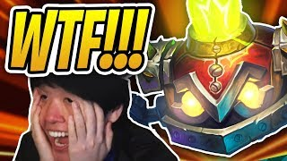 DISGUISED TOAST LOSES HIS MIND! | Archivist Elysiana Control Warrior | Rise of Shadows | Hearthstone