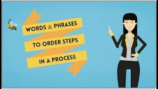 IELTS Writing - Vocabulary to Describe a Process