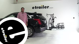 Hollywood Racks  Hitch Cargo Carrier Review - 2018 Cadillac XT5