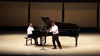 Duo Made in Brazil - IV. BRAHMS Clarinet Sonata No  2, Op  120