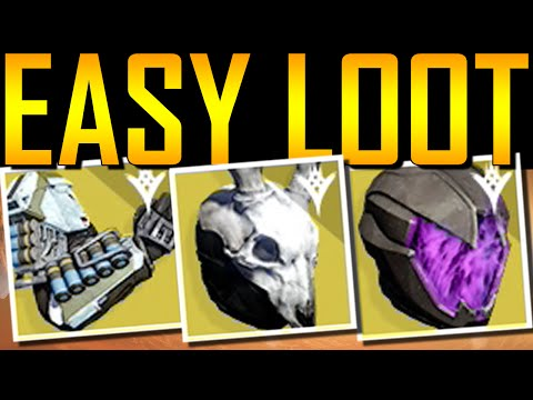 Destiny - EASIEST WAY TO GET EXOTIC LOOT!