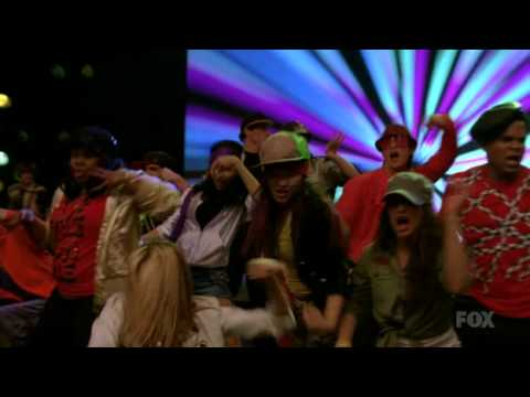 Glee-Give up the funk-Full performance