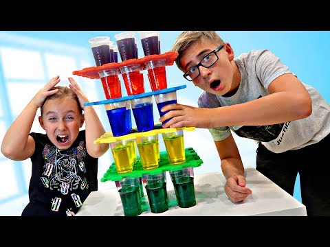 Go JENGA FROM GLASSES to SURVIVE - a Sketch challenge on We are family