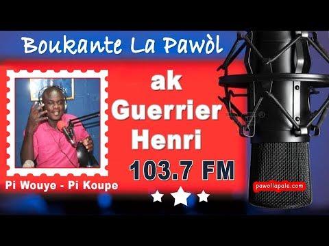 BOUKNTE LA PARÒL ak Guerier e Ismael - 14 fevr 2019