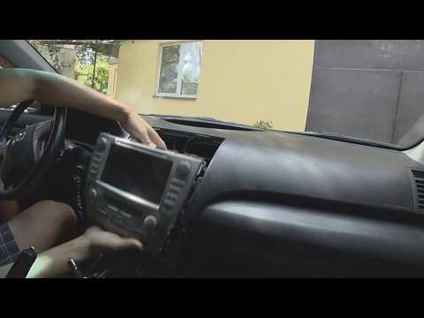 Как снять ГУ в Toyota Camry 40 || снятие магнитолы Кампри 40
