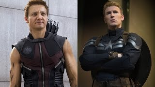 Hawkeye Captain America 2 Cut Scene Revealed