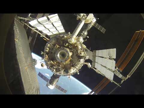 Soyuz Undocking and Docking ISS GoPro Android