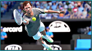 AO Tennis 2 - Apex vs GameRiot / Medvedev vs Kyrgios (PS4 Pro Gameplay)