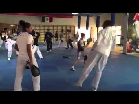 Taekwondo Training Mexico