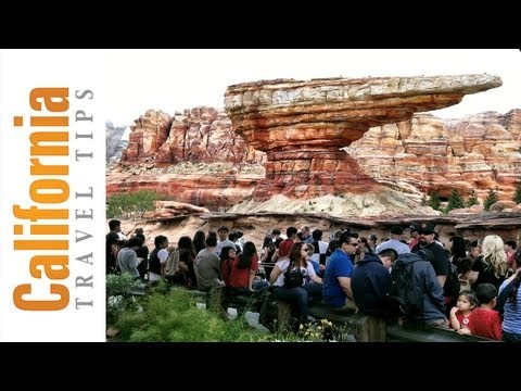 Cars Land - California Adventure - Disneyland, CA