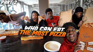 Who Can Finish A BOX Of PIZZA FIRST ! | Winner Wins $10000
