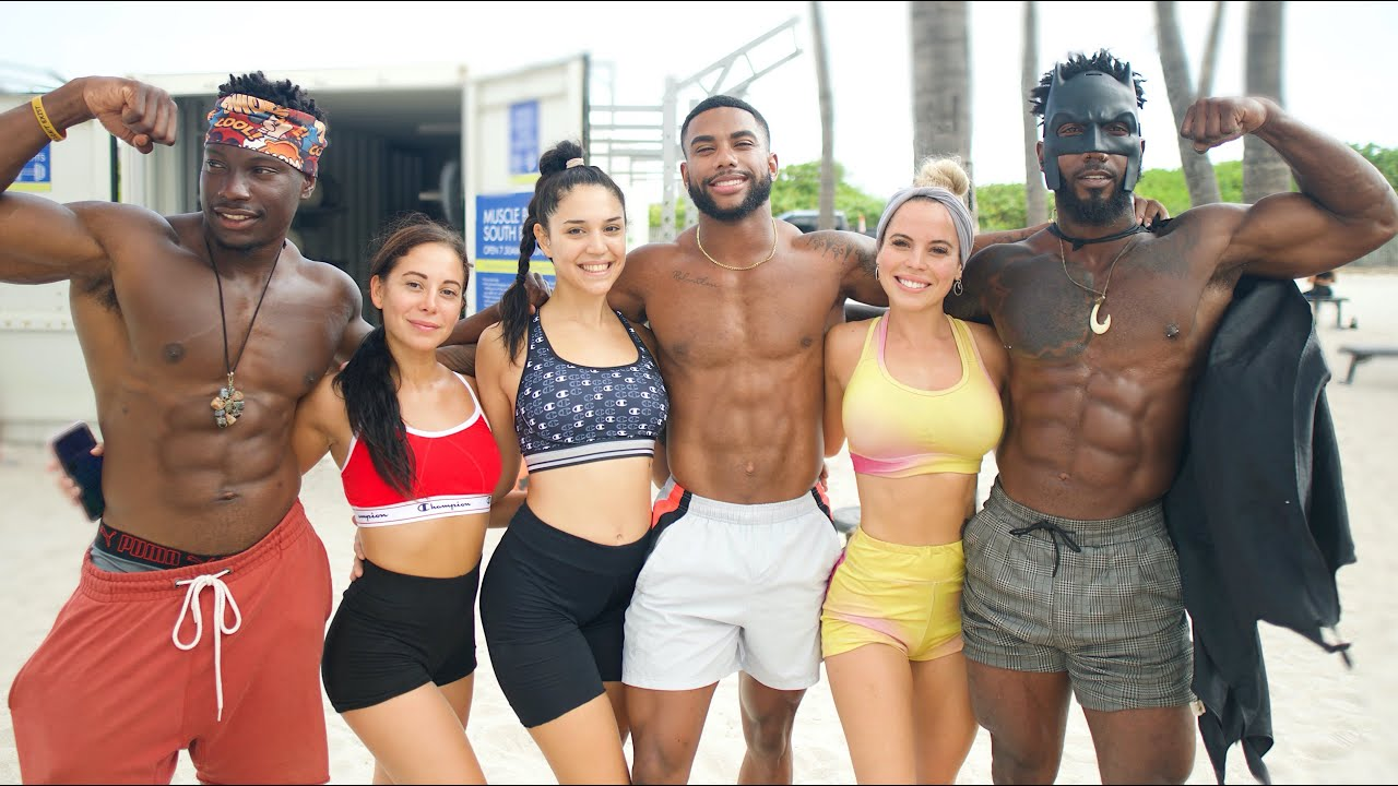 How Bodybuilders REALLY Pick Up Girls | Miami Edition