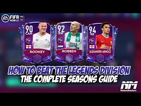 HOW TO BEAT THE LEGENDS DIVISION | THE COMPLETE SEASONS GUIDE | CLAIM GULLIT | TIPS & TRICKS