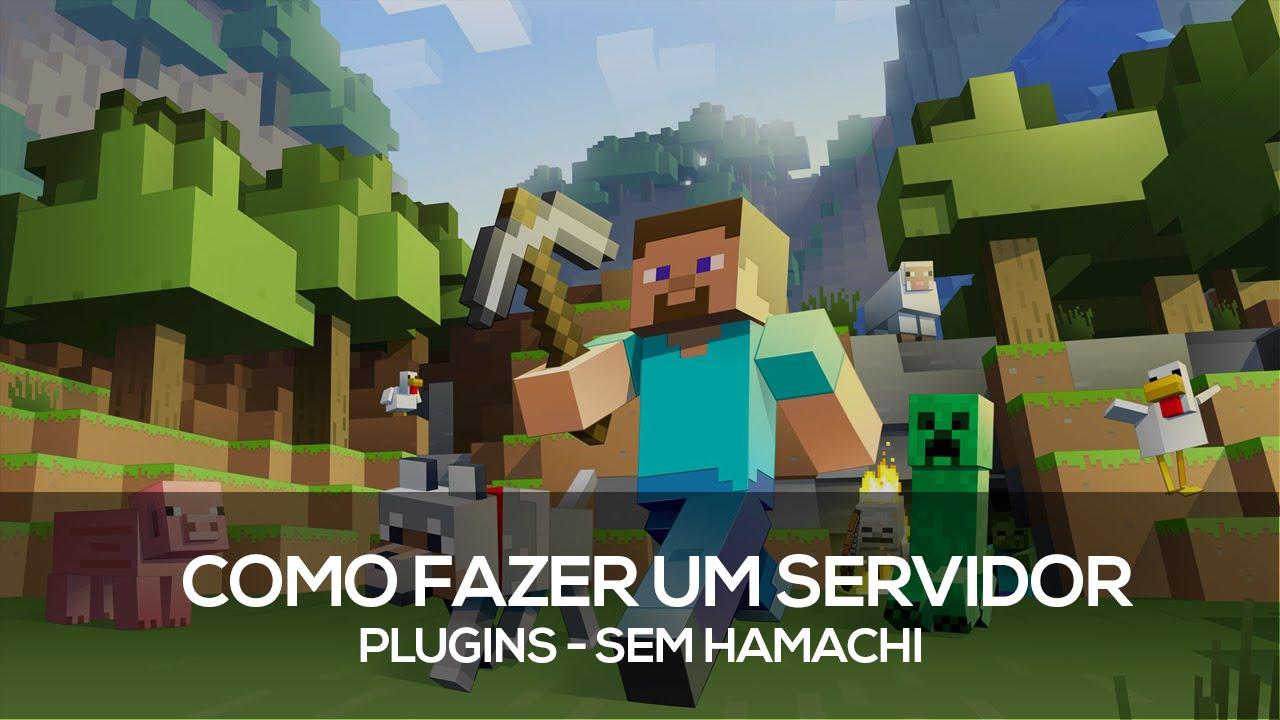 Como fazer um Servidor de Minecraft plugins #01- Sem hamachi Host 24 Horas