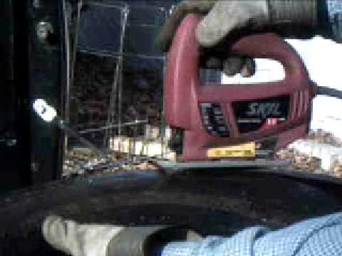 Coupe du pneus 2 youtube - Couper un tonneau en deux ...