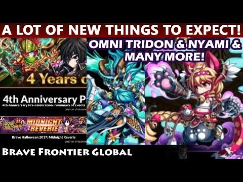 The Next Updates - 4th Anniversary & Halloween Event News (Brave Frontier Global)