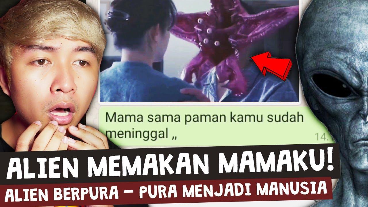 MAMAKU DIMAKAN ALIEN 😱   Chat History Horror Terseram!