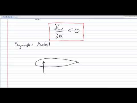 aircraft longitudinal static stability