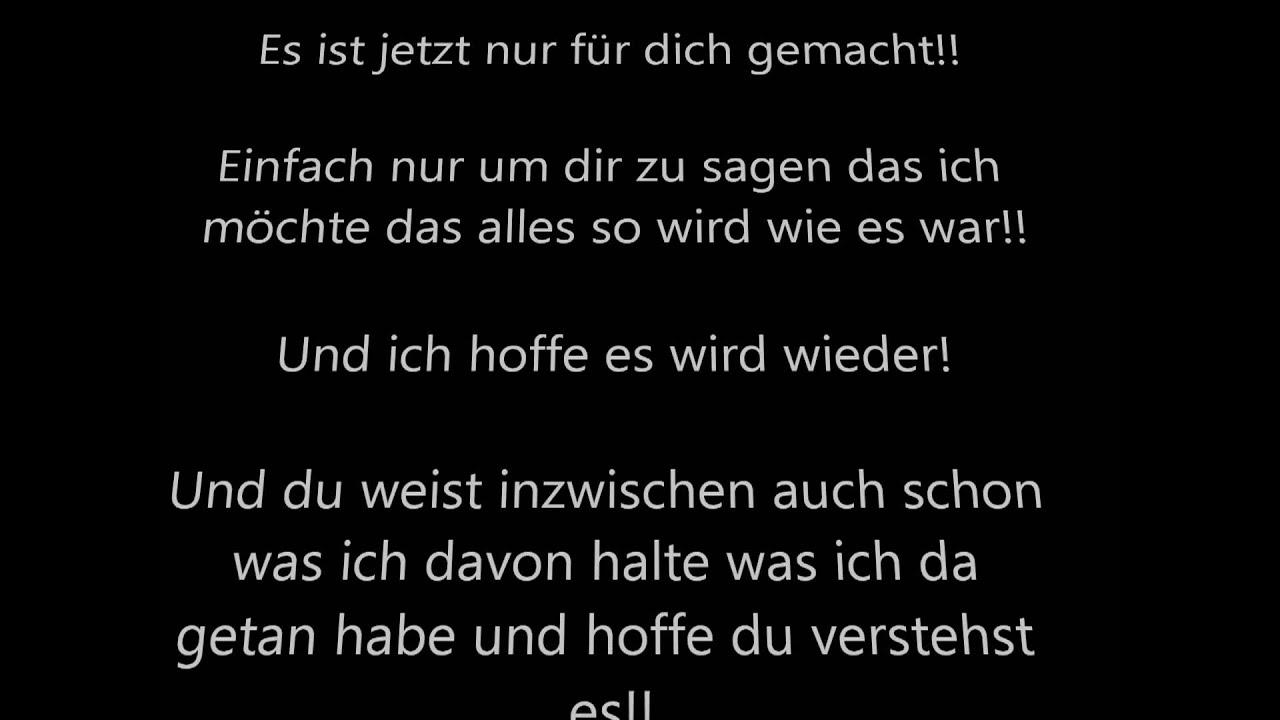my one and only übersetzung deutsch