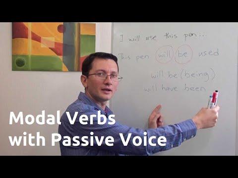 Модальные глаголы в пассивном залоге (passive Voice) английского языка