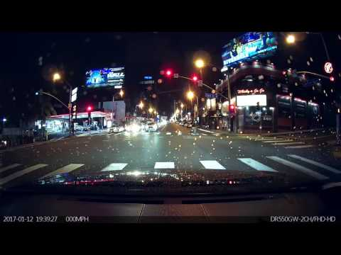 Driving to Soho House West Hollywood along Sunset Blvd