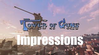 Tower of Guns (PS4) Impressions and Gameplay!