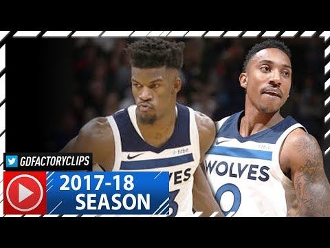 Jimmy Butler 26 Pts & Jeff Teague 22 Pts Full Highlights vs Magic (2017.11.22) - SICK!