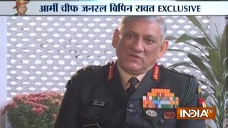 Army Chief Bipin Rawat Exclusive Interview, Says Can Tackle Pakistan and China Simultaneously