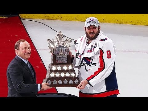 Alex Ovechkin awarded Conn Smythe Trophy