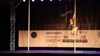 Oona Antinjuntti - Finnish Pole Dance Championships 2017