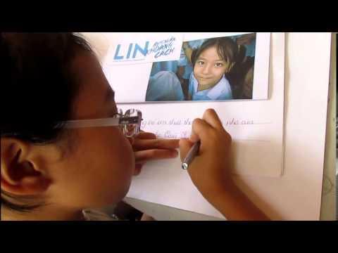Ngỡ ngàng với chữ viết tuyệt đẹp của Phương Mỹ Chi
