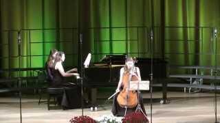 Э.Григ Соната для виолончели и фортепиано (1ч) Исп.Екатерина Христова, Вера Зырянова