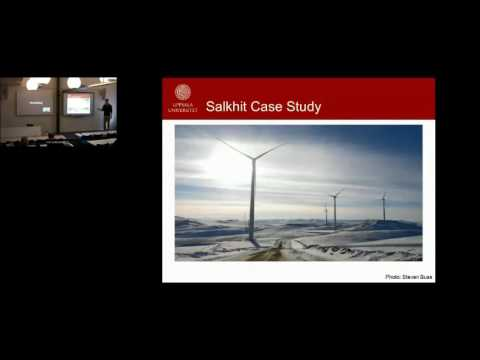 Potential for Wind Power Development in Mongolia - Geoffrey DeSena