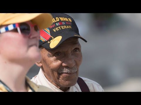 Watch the #SoldierStory of 99-year-old retired Maj. Anthony H. Grant who served in Normandy and Korea. Video by @AFNPacificNow #ArmyHistory #Soldier4Life