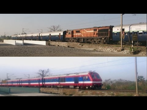 Push Pull Vs ICF Demu: Trains of Boisar - Vasai - Diva - Roha Route