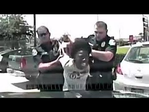 Police Brutality Compilation - Racist Police Officer Slams Black Woman Teacher