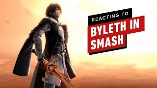 Reacting to Byleth (Fire Emblem) in Super Smash Bros Ultimate
