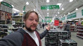 Цены на инструмент в магазине Менардс в Америке