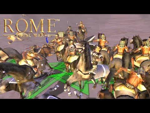 Quick Battle - Egypt VS The Seleucid Empire (Rome Total War)