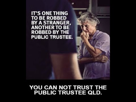 Why trust the Public Trustee?