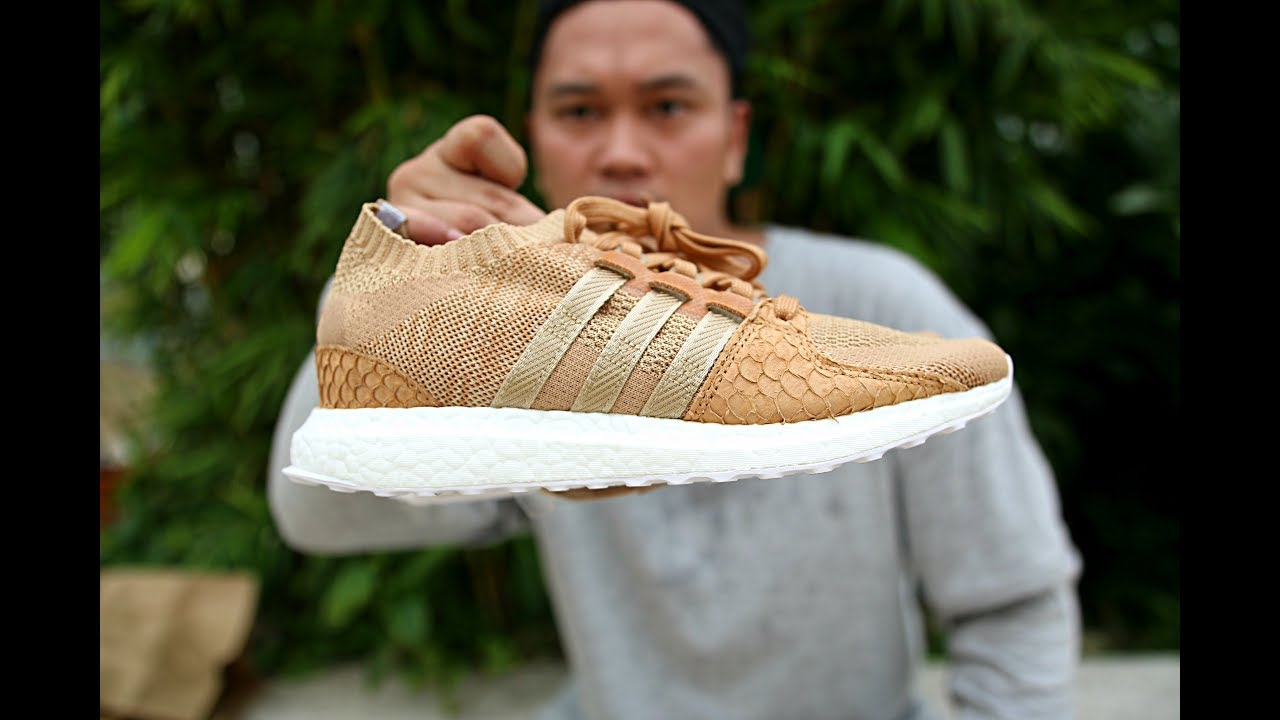 new style 974d3 32f0a UNBOXING Pusha T x Adidas EQT Support Ultra